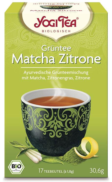 YOGI TEA - Grüntee Matcha Zitrone