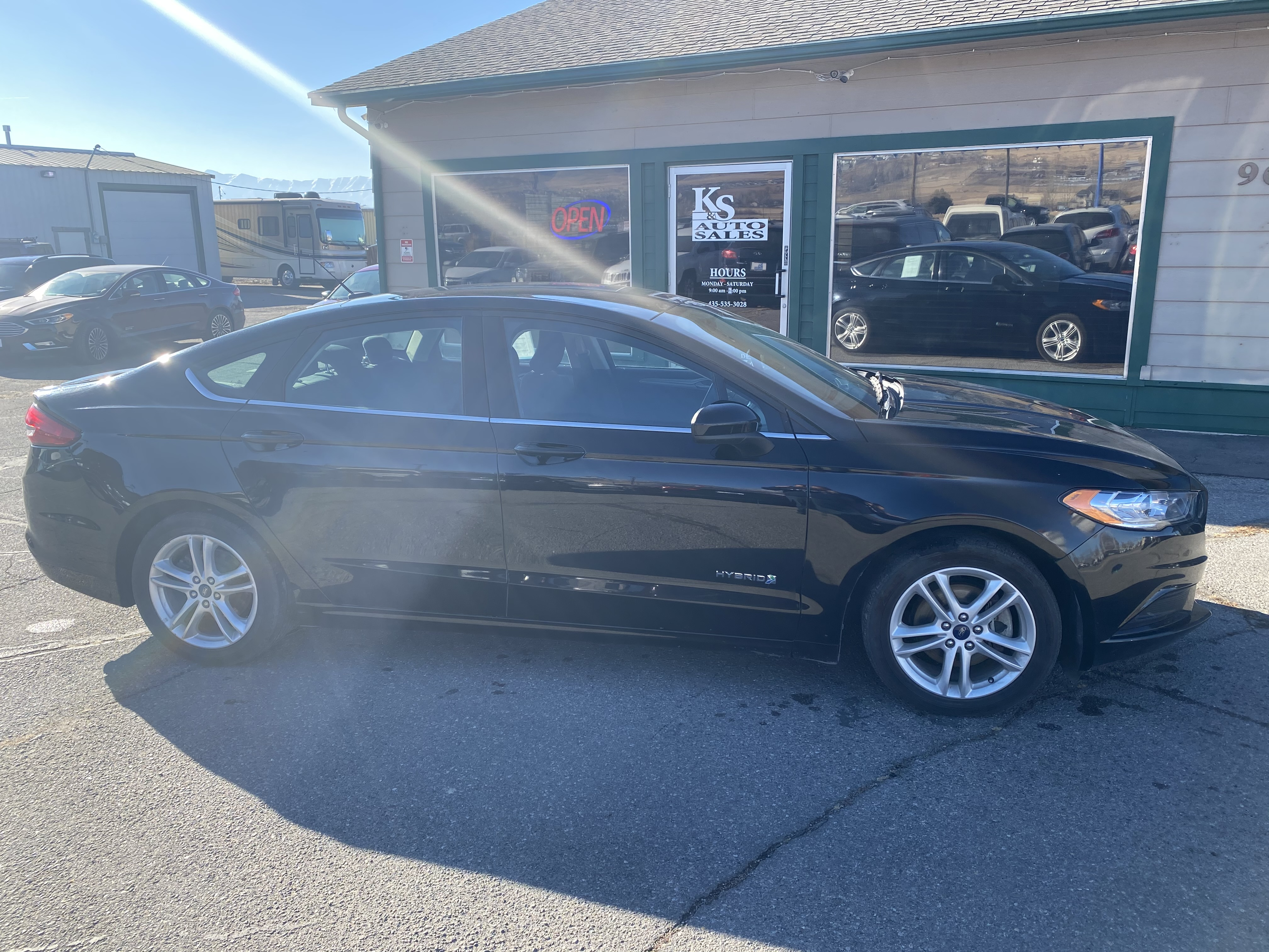 2018 Ford Fusion Hybrid SE2531