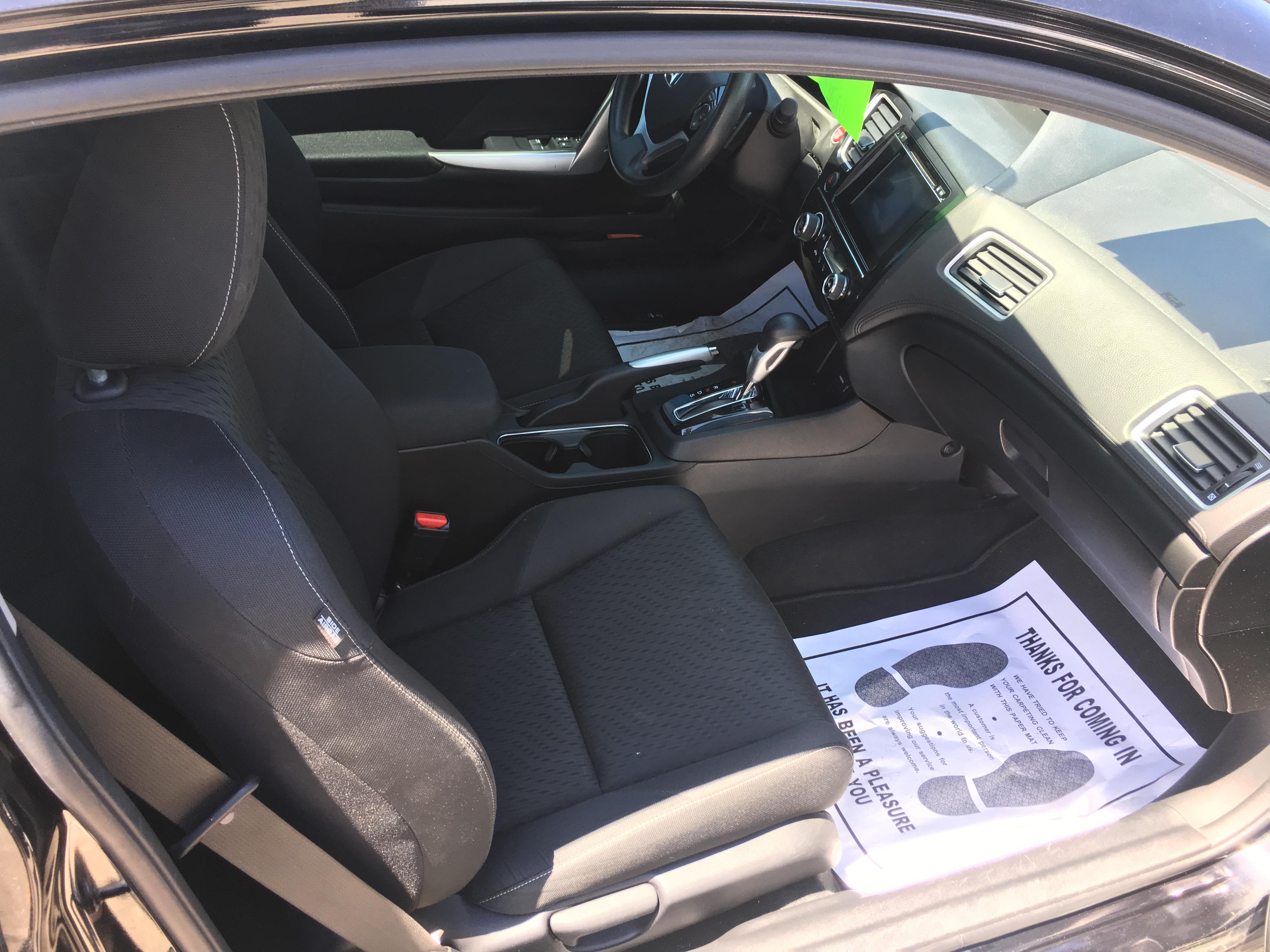 2015 Honda Civic 2 Door EX