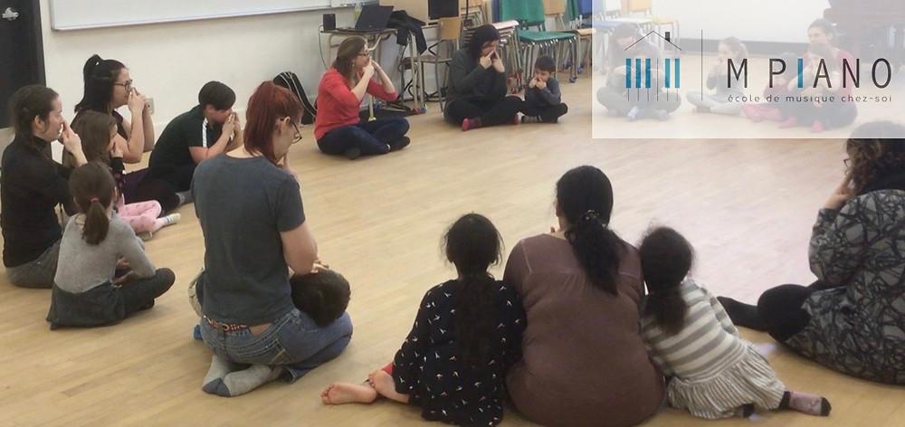 atelier de chant parent-enfant M Piano