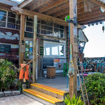 Back of the Tiki Bar