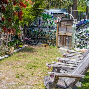 Lounge Area near Tiki Bar