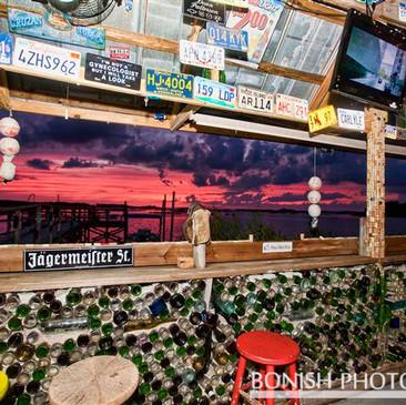 Recycling Becomes Art Hideaway Tiki Bar