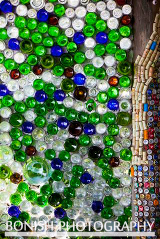 Recycled Bottles As Walls