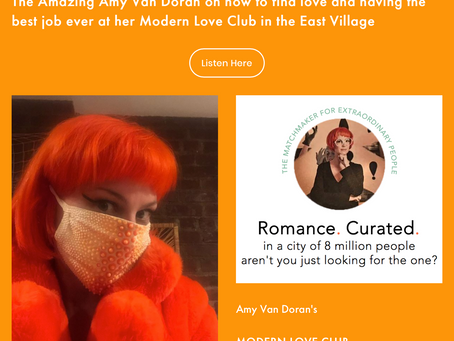 Amy Van Doran, NYC's Matchmaker for Extraordinary People featured on the Adult Candy Podcast