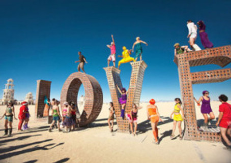 What I Learned about Love by Going to Burning Man by Amy Van Doran