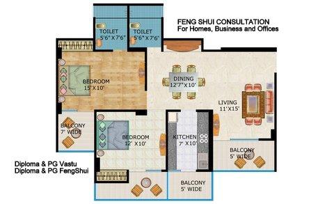 Vastu & Fengshui map consultation