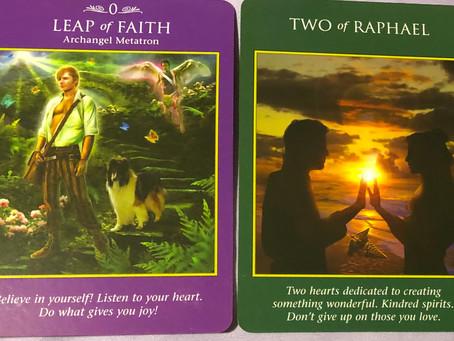 Gemini New Moon Card Pair