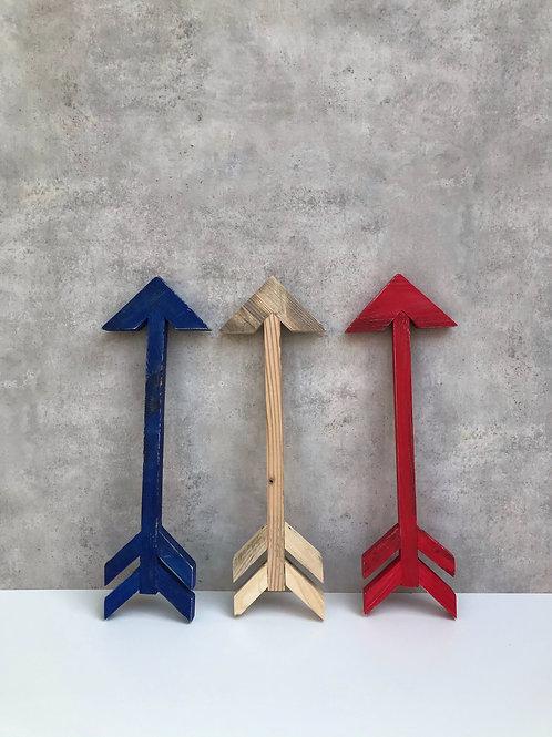Dekor, Holzpfeil verschiedene Farben