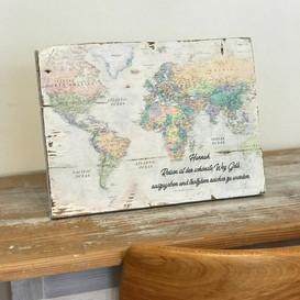 Weltkarte Board