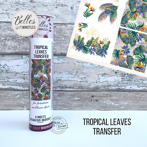 Tropical Leaves Transfer
