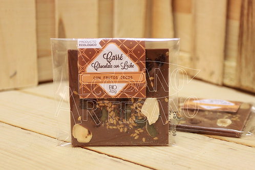 CARRÉ CHOCOLATE C/LECHE