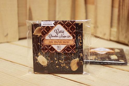 CARRÉ CHOCOLATE NEGRO 75%