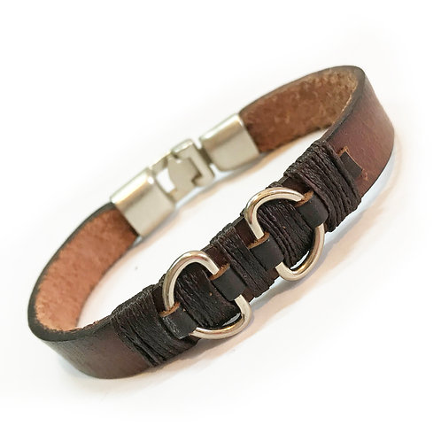 Dude Genuine Leather Bracelet