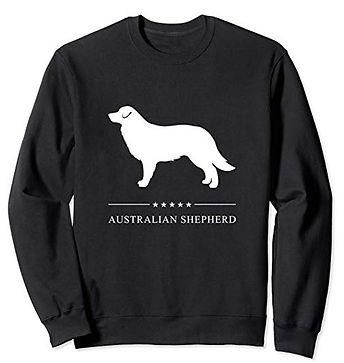 White-Stars-Sweatshirt-Australian-Shephe