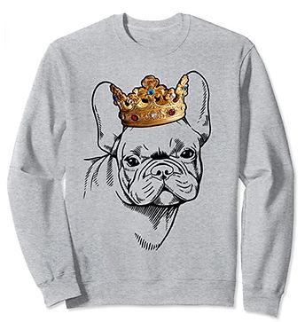 French-Bulldog-Crown-Portrait-Sweatshirt