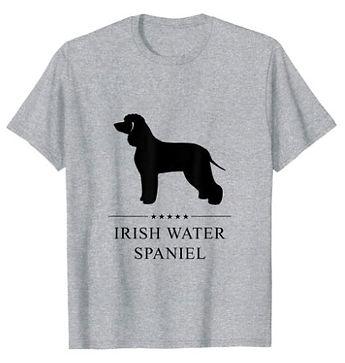 Irish-Water-Spaniel-Black-Stars-tshirt.j