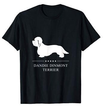 Dandie-Dinmont-Terrier-White-Stars-tshir
