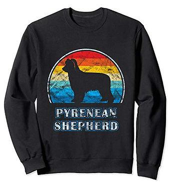 Vintage-Design-Sweatshirt-Pyrenean-Sheph