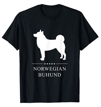 Norwegian-Buhund-White-Stars-tshirt.jpg