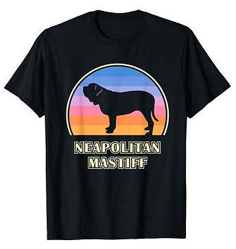 Vintage-Sunset-tshirt-Neapolitan-Mastiff