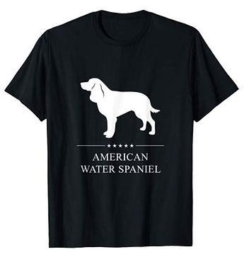 American-Water-Spaniel-White-Stars-tshir