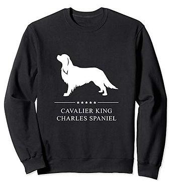 White-Stars-Sweatshirt-Cavalier-King-Cha