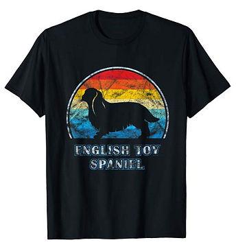 Vintage-Design-tshirt-English-Toy-Spanie