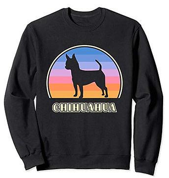 Vintage-Sunset-Sweatshirt-Smooth-Chihuah