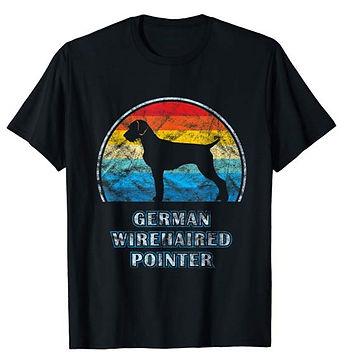 Vintage-Design-tshirt-German-Wirehaired-