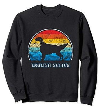 Vintage-Design-Sweatshirt-English-Setter