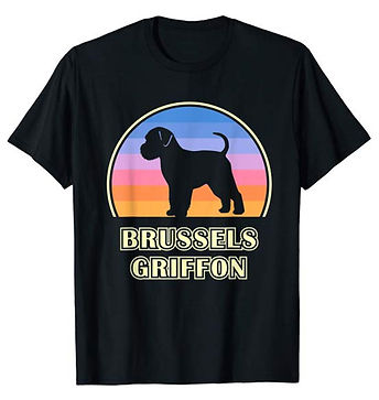 Vintage-Sunset-tshirt-Brussels-Griffon.j