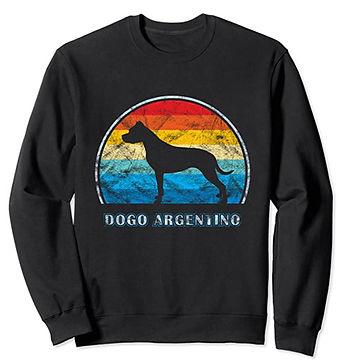 Dogo-Argentino-Vintage-Design-Sweatshirt