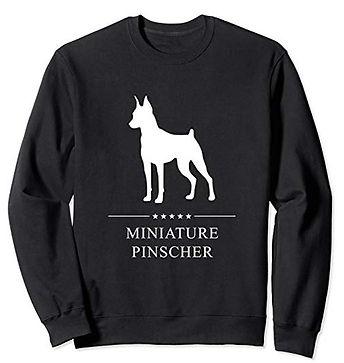 White-Stars-Sweatshirt-Miniature-Pinsche