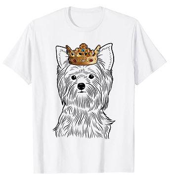 Yorkshire-Terrier-Crown-Portrait-tshirt.