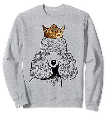 Miniature-Poodle-Crown-Portrait-Sweatshi