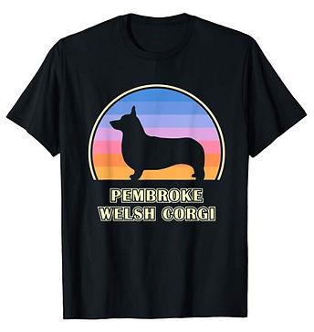 Vintage-Sunset-tshirt-Pembroke-Welsh-Cor