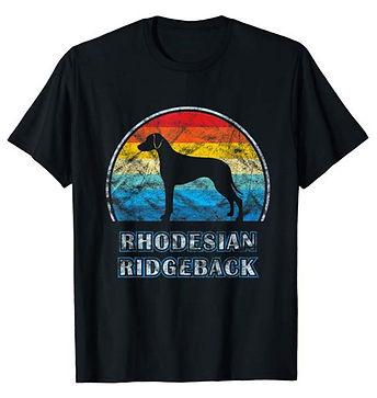 Vintage-Design-tshirt-Rhodesian-Ridgebac