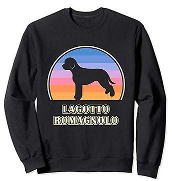 Vintage-Sunset-Sweatshirt-Lagotto-Romagn