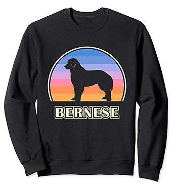 Vintage-Sunset-Sweatshirt-Bernese-Mounta