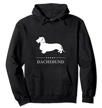 Dachshund-Wirehaired-White-Stars-Hoodie.