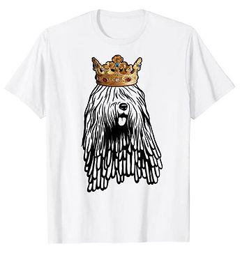 Bergamasco-Sheepdog-Crown-Portrait-tshir