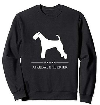 White-Stars-Sweatshirt-Airedale-Terrier.