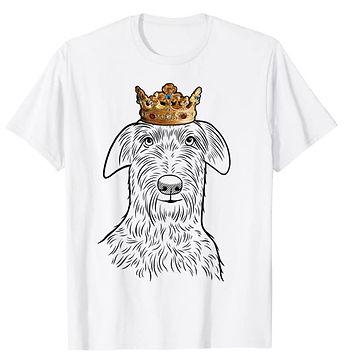 Scottish-Deerhound-Crown-Portrait-tshirt