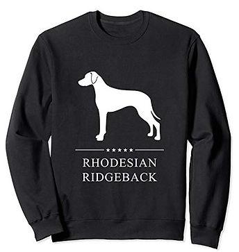 White-Stars-Sweatshirt-Rhodesian-Ridgeba