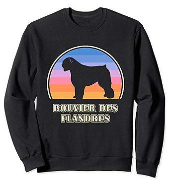 Vintage-Sunset-Sweatshirt-Bouvier-des-Fl
