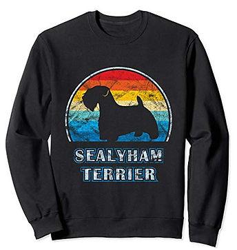 Vintage-Design-Sweatshirt-Sealyham-Terri