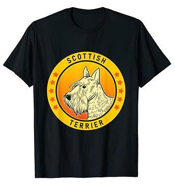 Scottish-Terrier-Portrait-Yellow-tshirt.