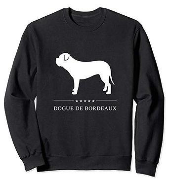 White-Stars-Sweatshirt-Dogue-de-Bordeaux