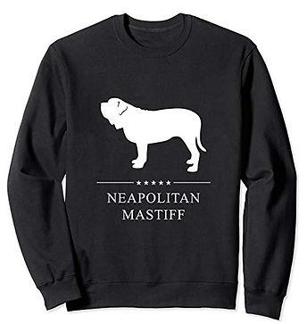White-Stars-Sweatshirt-Neapolitan-Mastif